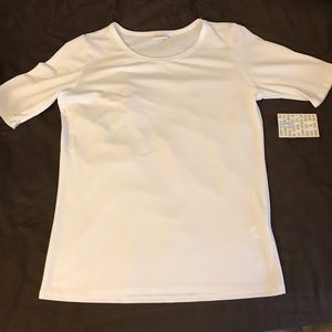 LuLaRoe white Gigi top, XL